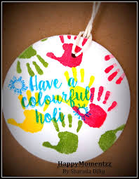 happymomentzz crafting by sharada dilip holi crafts with my toddler