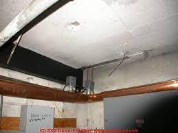 Asbestos In Basement by Complete List Of Forms In Which Asbestos Was Used A List Of Known