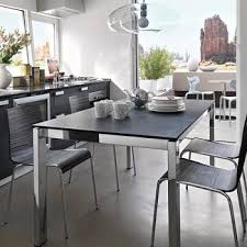 Dining Table Ls Calligaris Baron Extendable Dining Table 130 Metal Frame Cb