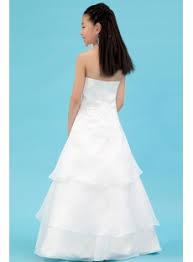 Wedding Dresses For Girls Ivory Organza Beautiful Mini Bridal Gowns For Girls 1st Dress Com