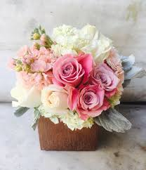Vase With Roses Rose Gold Love