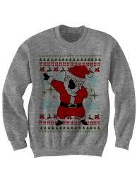 sweater dabbin santa sweater