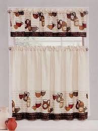 coffee kitchen curtains java coffee theme embroidered tier curtains and valances by