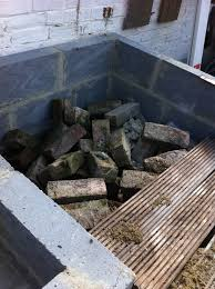 how to make an outdoor brick oven from recycled materials