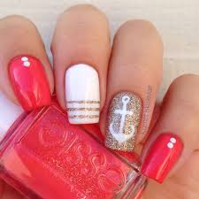 best 25 nautical nails ideas only on pinterest anchor nails