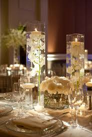 Large Round Glass Vase Furniture Flower Vases For Weddings With White Flowers On Glass
