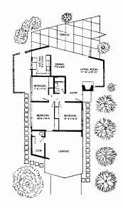 eichler home plans eichler subdivisions eichler s early years 1951 52 page 2
