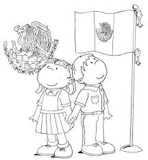 mexico flag coloring page pictures 5881
