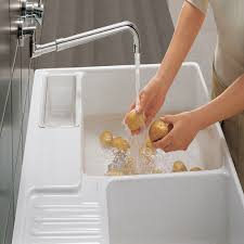 And Boch Butler  Double Bowl Ceramic Kitchen Sink - Kitchen sinks ceramic