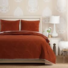 cameo rust quilt set on sale free shipping today overstock