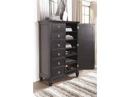 Greensburg Storage Sleigh Bedroom Set Millennium By Ashley Greensburg Transitional Door Chest With
