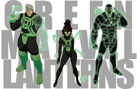 green marvel lanterns by thechamba on deviantart