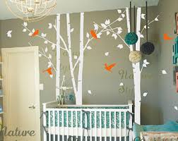tree wall decals birds nature forest vinyl wall decals wall