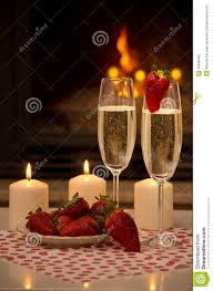 romantic evening by the fireplace stock photo image 40049402