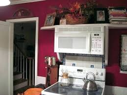 over range microwave no cabinet microwave shelf above stove april piluso me