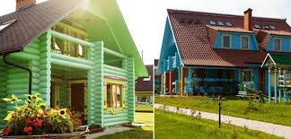 bright exterior paint colors adding fun to house designs