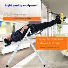 back relief inversion table 2018 foldable inversion table chiropractic back pain relief therapy