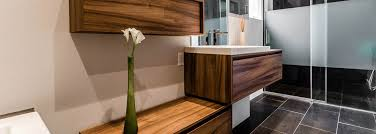 vanité chambre de bain armoires et rangements de salle de bain design sur mesure