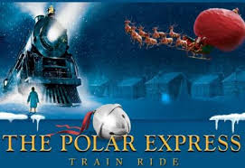 the polar express train ride presented by texas state railroad