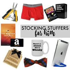 Stocking Stuffers For Her Stocking Stuffers For Him Her U2014 Sara Dear
