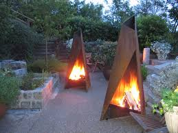 tipi outdoor fire by heta a s at orion heating