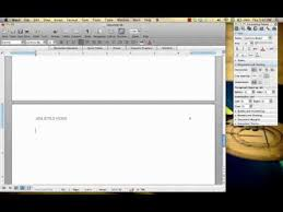 apa template for apple pages apa style paper for mac youtube ideas collection apa format for mac