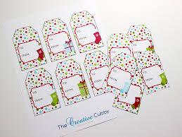 the creative cubby free printable polka dot christmas gift tags