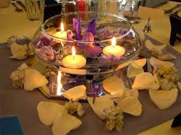 Candle Centerpieces Floating Flowers And Candles Centerpieces Family Holiday Net