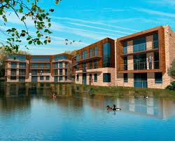 fairford eco lakes development hawkes architecture
