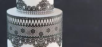 edible lace modern lace cake supplies tutorial about cake craftsy