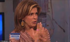 what does hoda kotb use on her hair today host hoda kotb told bosses you can t scare me after breast