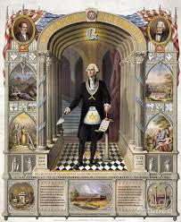 george washington freemason photograph by science source