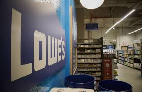 wall shelves at lowes lowe u0027s still in home depot u0027s shadow wsj