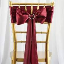 chair tie backs chair sashes discount chair sashes efavormart
