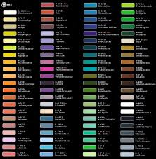 auto paint color chart uk ideas automotive valspar automotive
