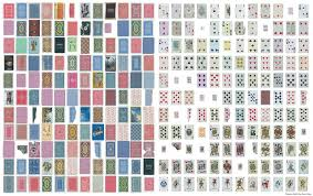 completes card deck from randomly found cards