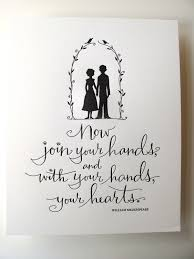 wedding quotes etsy letterpress print now join your and with your