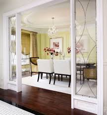 glass room divider dining room traditional with area rug balloon