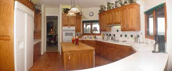 awesome circular brown color wooden kitchen island come with cream witching brown color