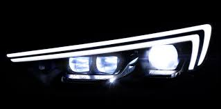ferrari headlights at night 2018 holden commodore teased as opel details new led matrix