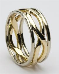 celtic gold rings images Mens celtic infinity wedding rings mg wed166 jpg