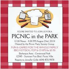 picnic invitation template smart tag me