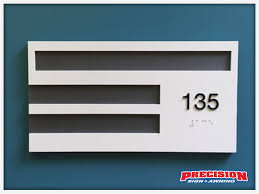 Ada Bathroom Sign Height by Ada Signage Requirements Precision Sign U0026 Awning