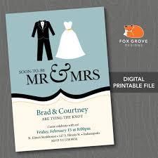 invitation printing services printable engagement party invitation future mr mrs