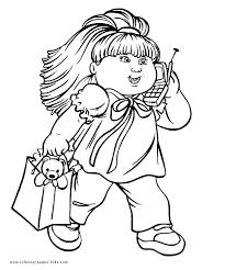 26 best colouring sheets images on pinterest cabbage patch kids