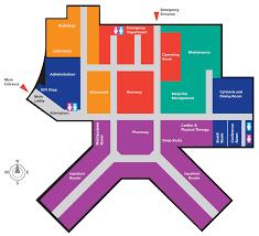 floor plan of hospital directions guthrie