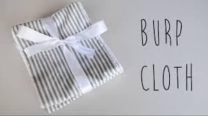 how to make baby burp cloths diy easy burp cloth easy baby