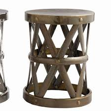 Bronze Accent Table Home Costello Side Table In Distressed Antique Bronze Wayfair