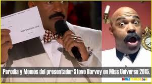 Memes Oscar - parodia de steve harvey y memes de miss universe 2015 oscar d