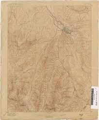 Map Of Aspen Colorado by